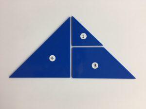 数理的色板〇△□パズル-さんかくのまほうー