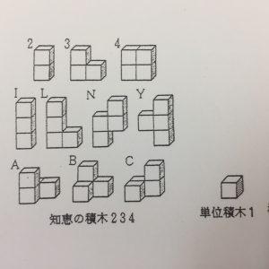 知恵の積み木234 -平面図形(1)-